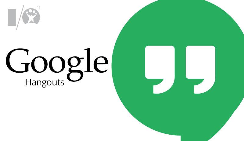 Hangouts, Google Chrome için Güncellendi!
