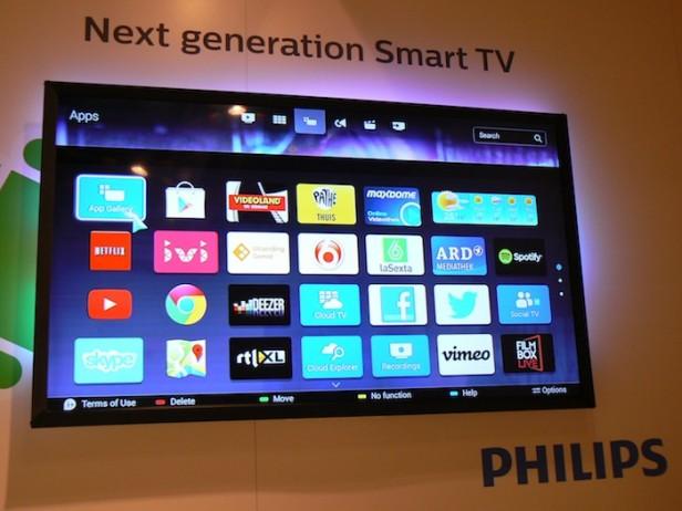 Philips TV'ler Android Lollipop'la Satılacak!